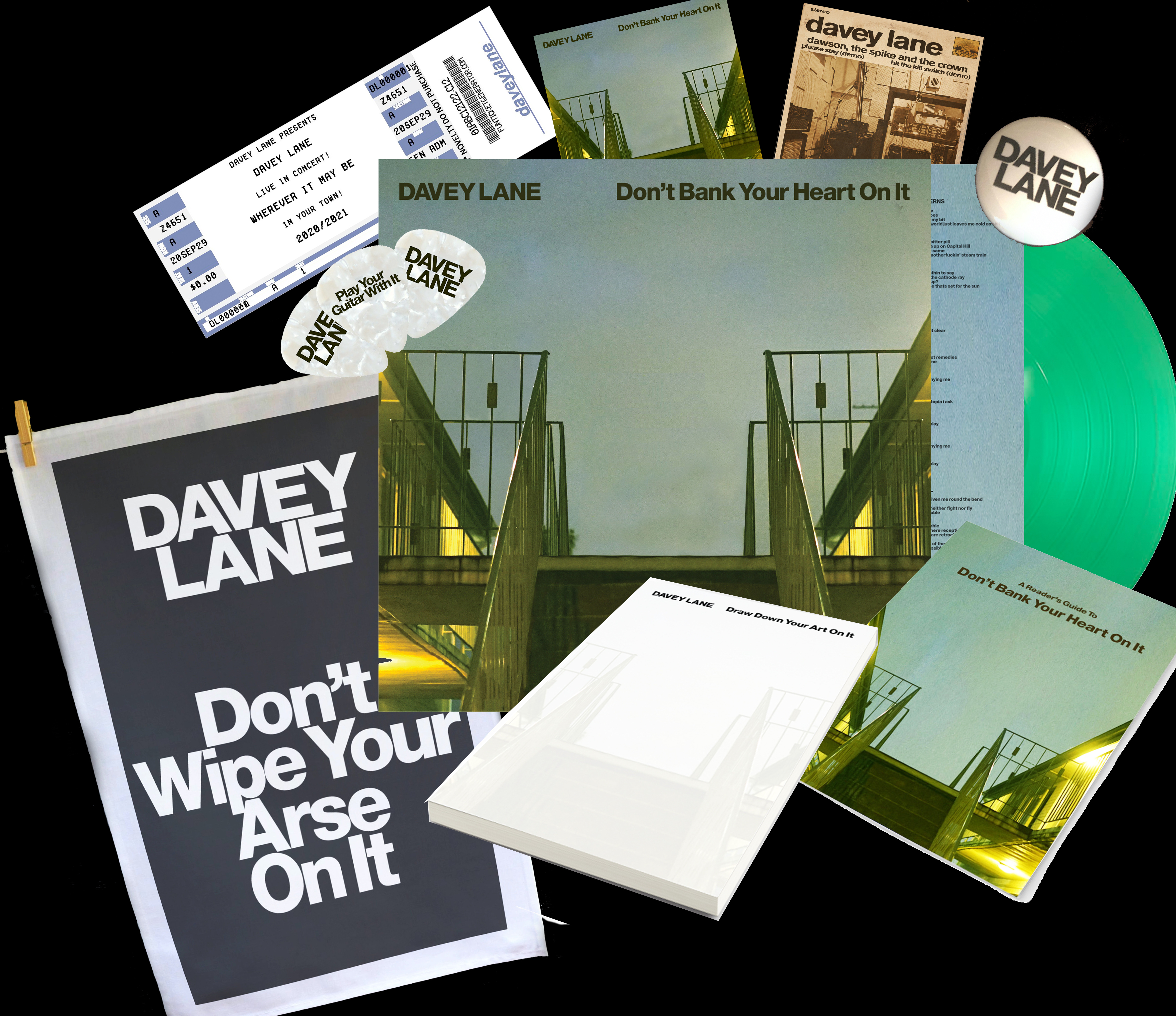 Don't Bank Your Heart On It : Deluxe Package