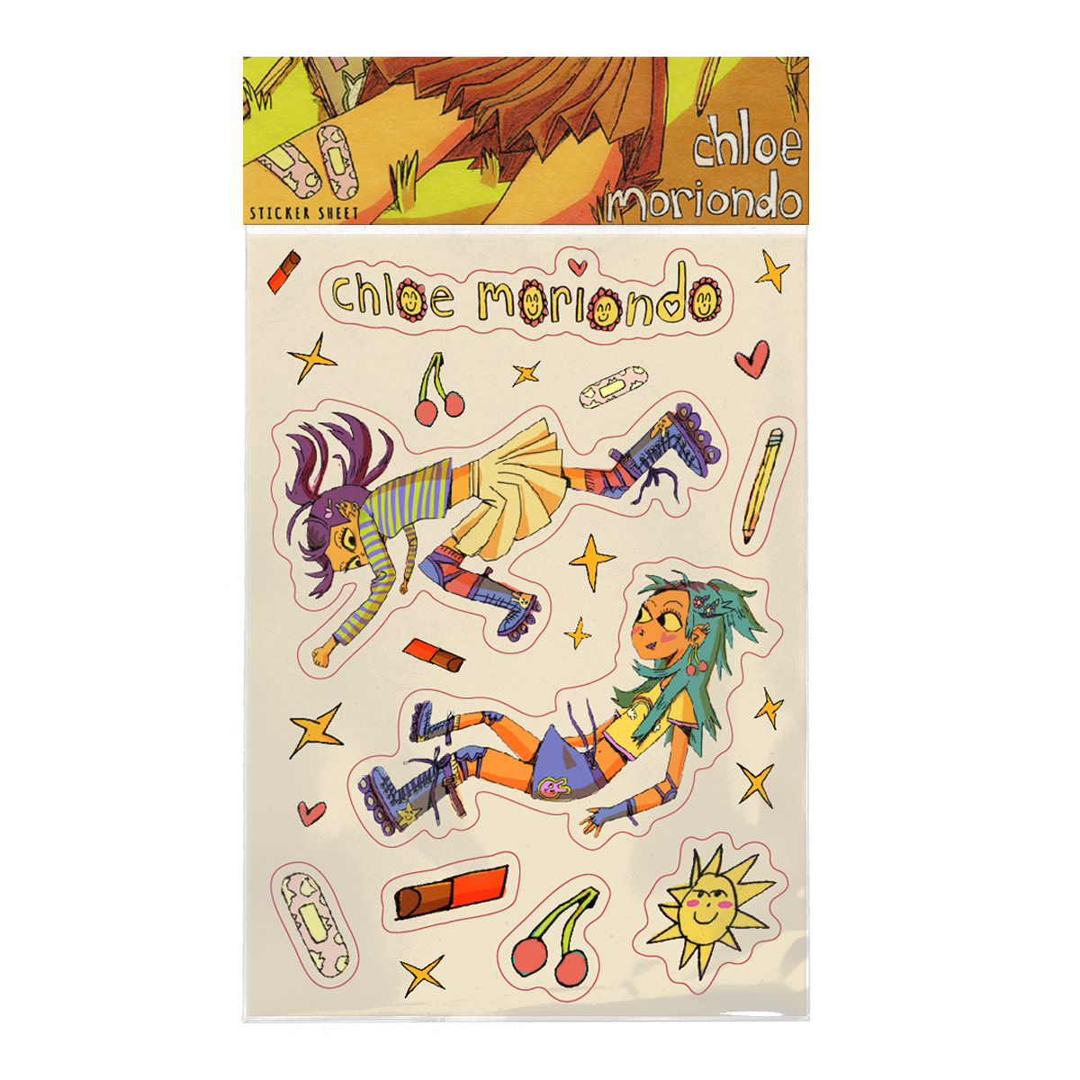 Chloe M Sticker Sheet