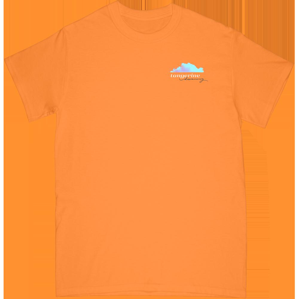 Tangerine Tee - Orange