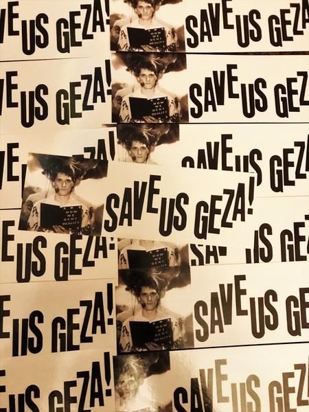 Save Us Geza! Bumper Sticker