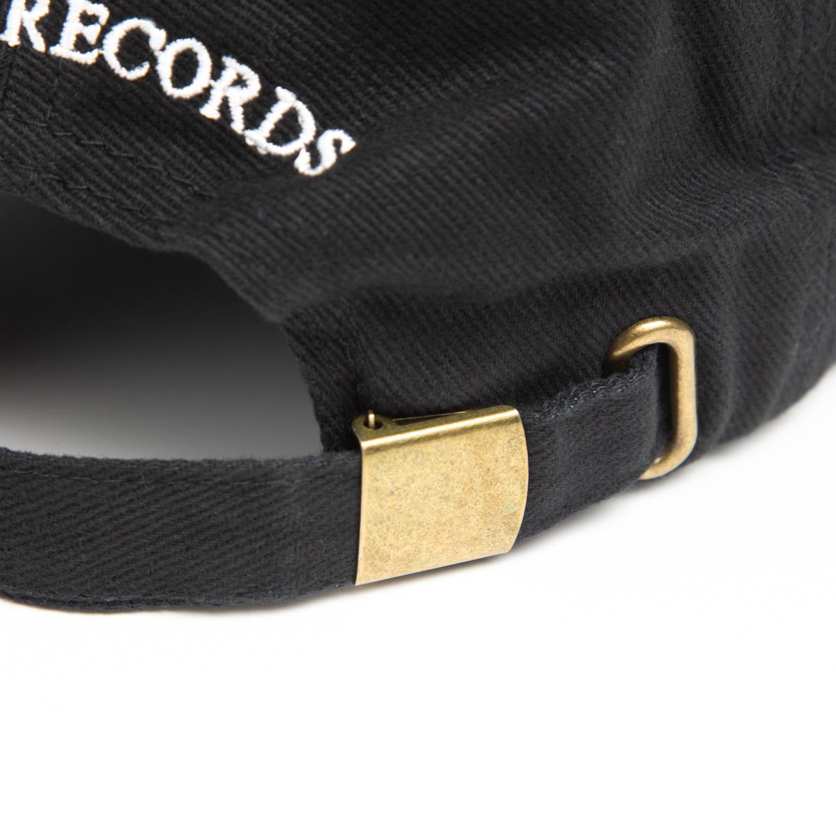 Hur Embroidered Cap (Black)