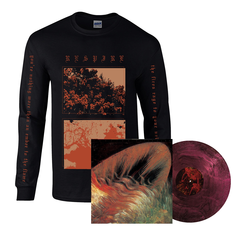 Respire - Black Line LP + long sleeve