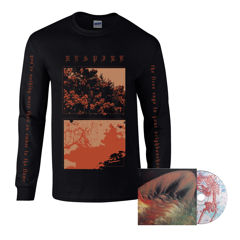 Respire - Black Line CD + long sleeve PREORDER