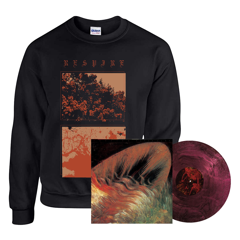 Respire - Black Line LP + crewneck