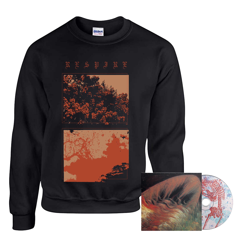 Respire - Black Line CD + crewneck PREORDER
