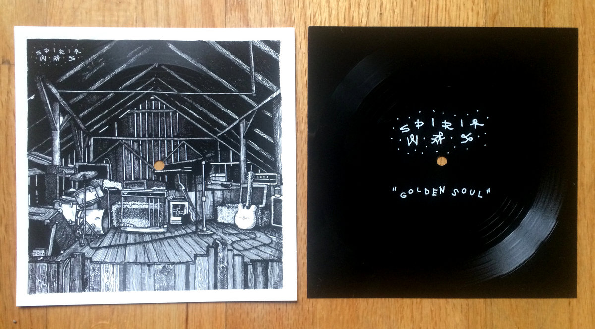 Spirit Was - Golden Soul (Illustrated Flexi Disc 7