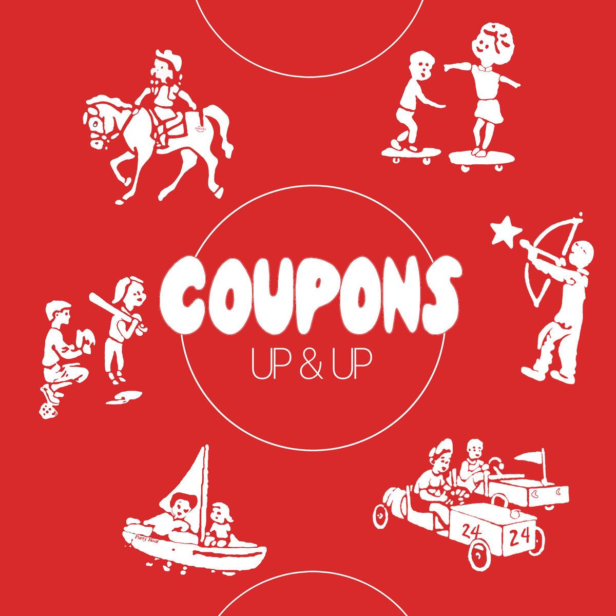 Coupons - Up & Up LP