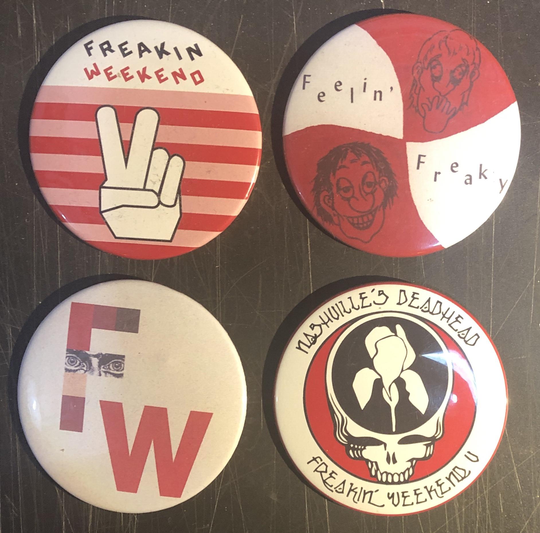 THE FREAKIN' WEEKEND Vintage Merchandise