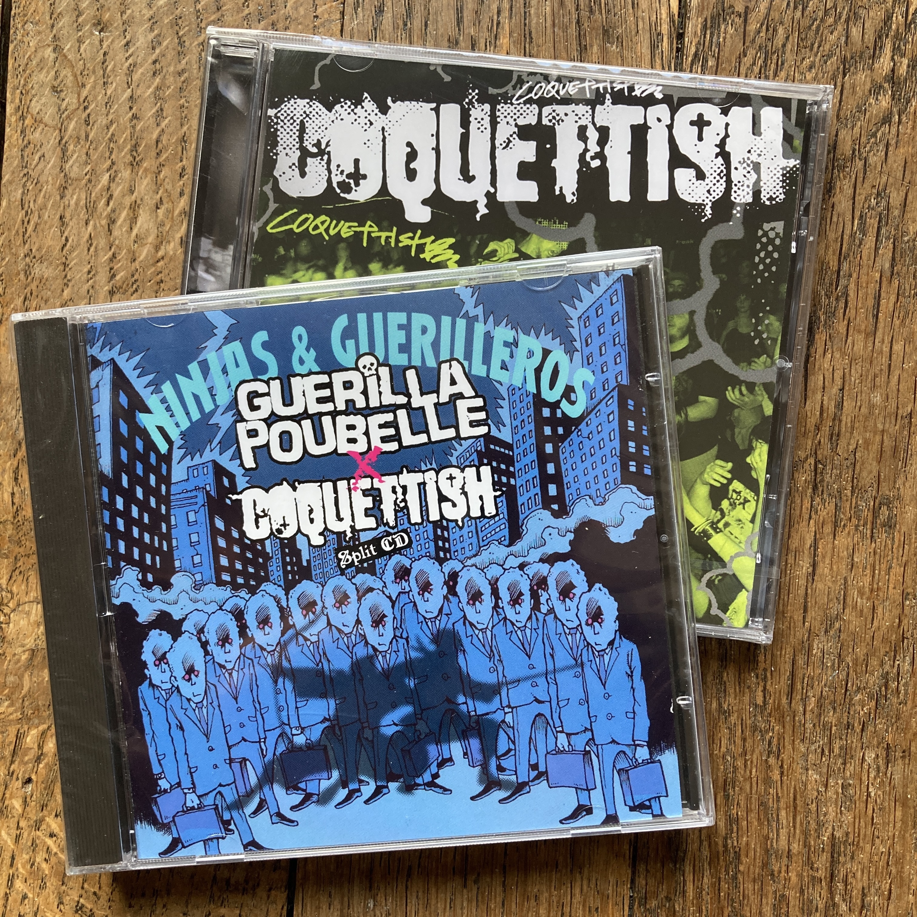 DEAL split CD + FREE Coquettish album !!