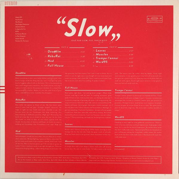 Sport – Slow LP (red vinyl)