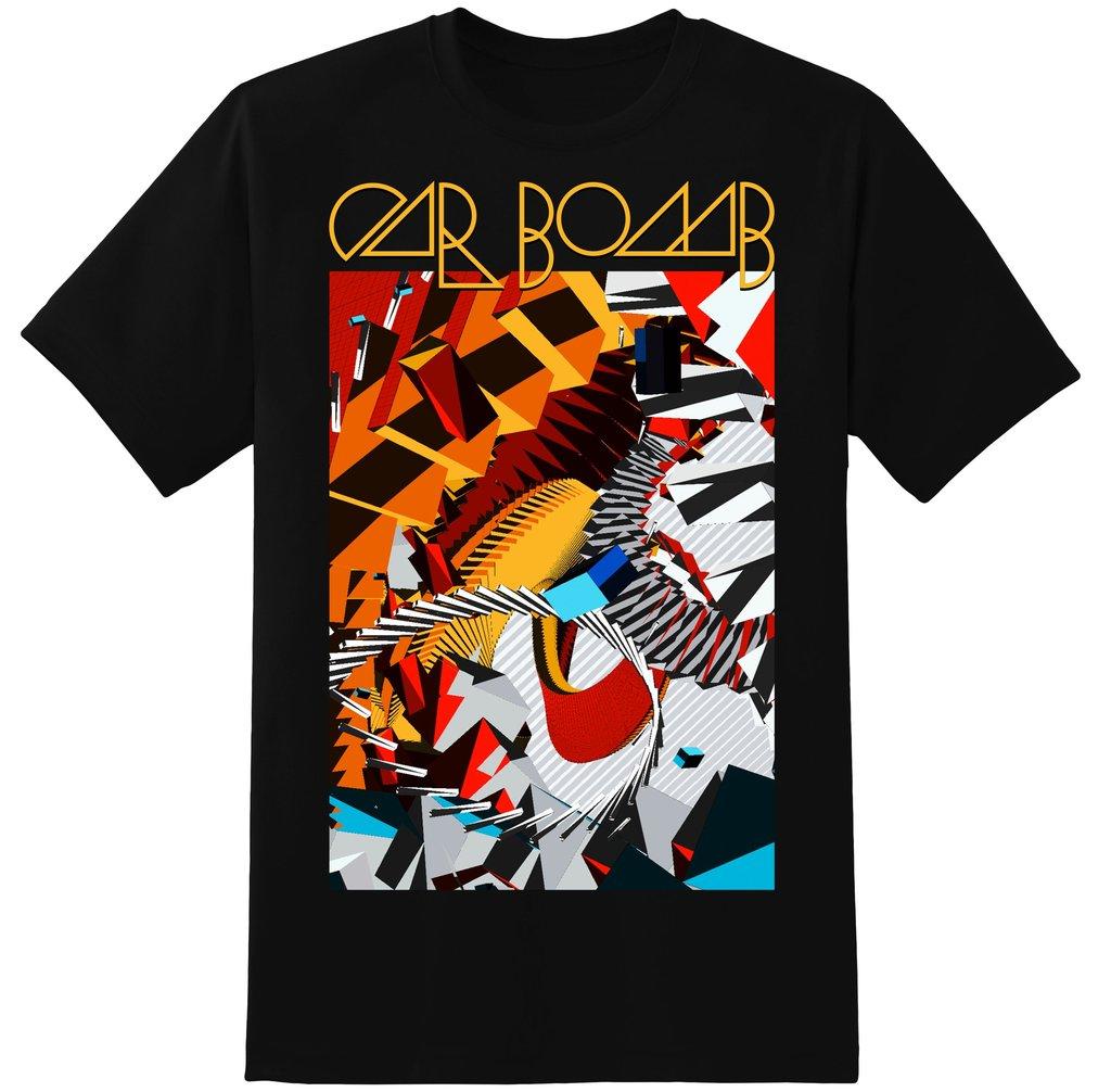 Car Bomb - Abstract shirt