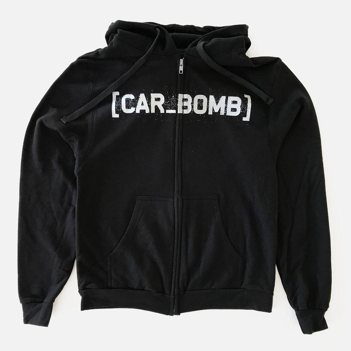 Car Bomb - Bracket Logo zip hoodie