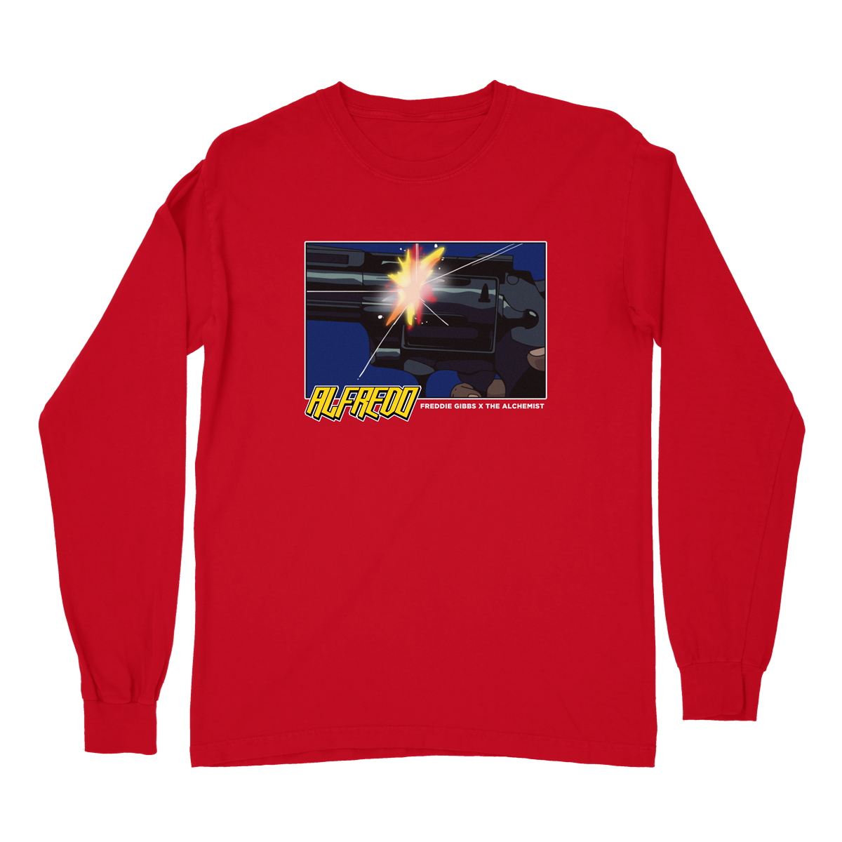 Anime Gun Long Sleeve