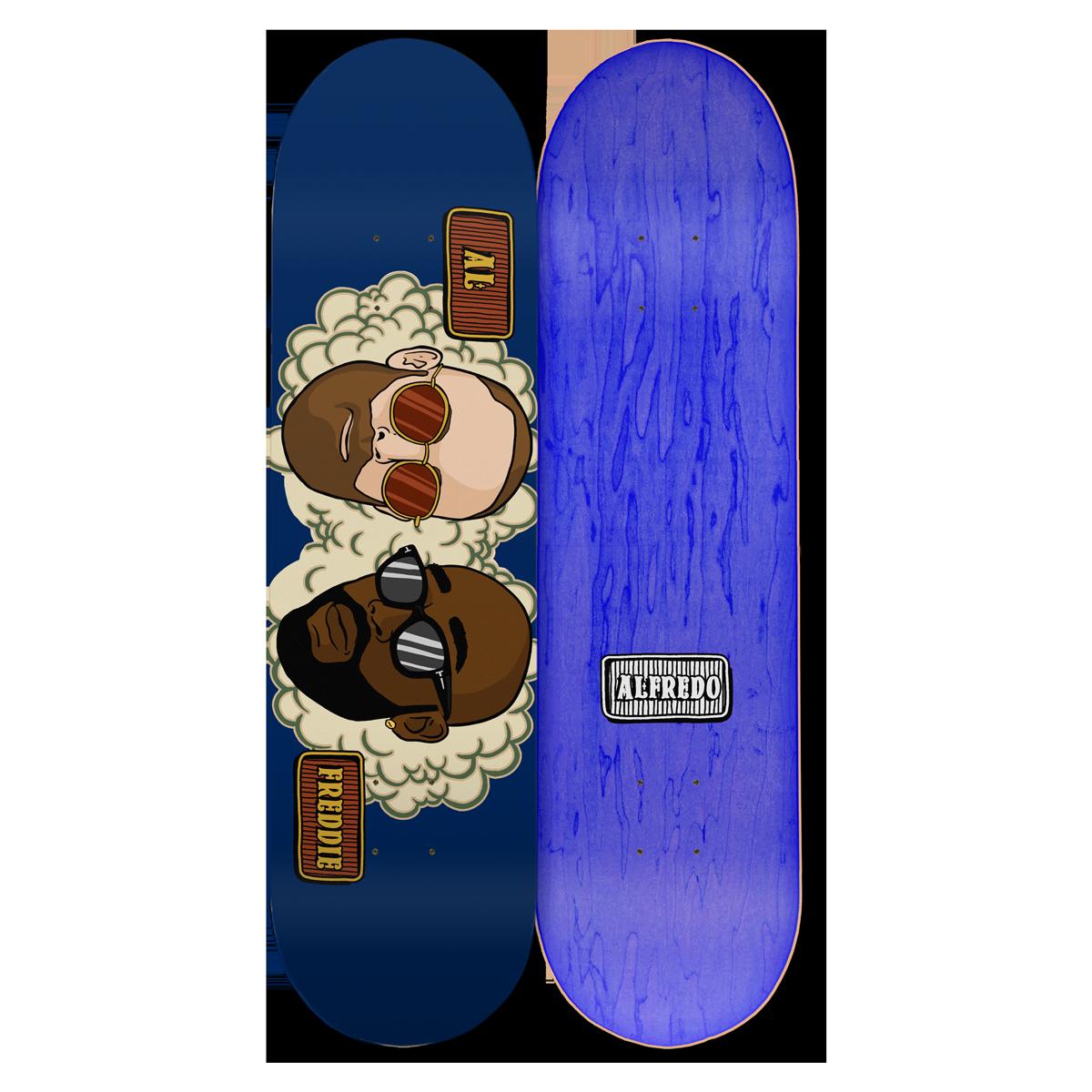Smokey Skate Deck