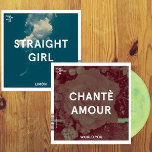 CPWM018 CHANTE AMOUR 'WOULD YOU' / STRAIGHT GIRL 'LIMON'  (ECOMIX VINYL)