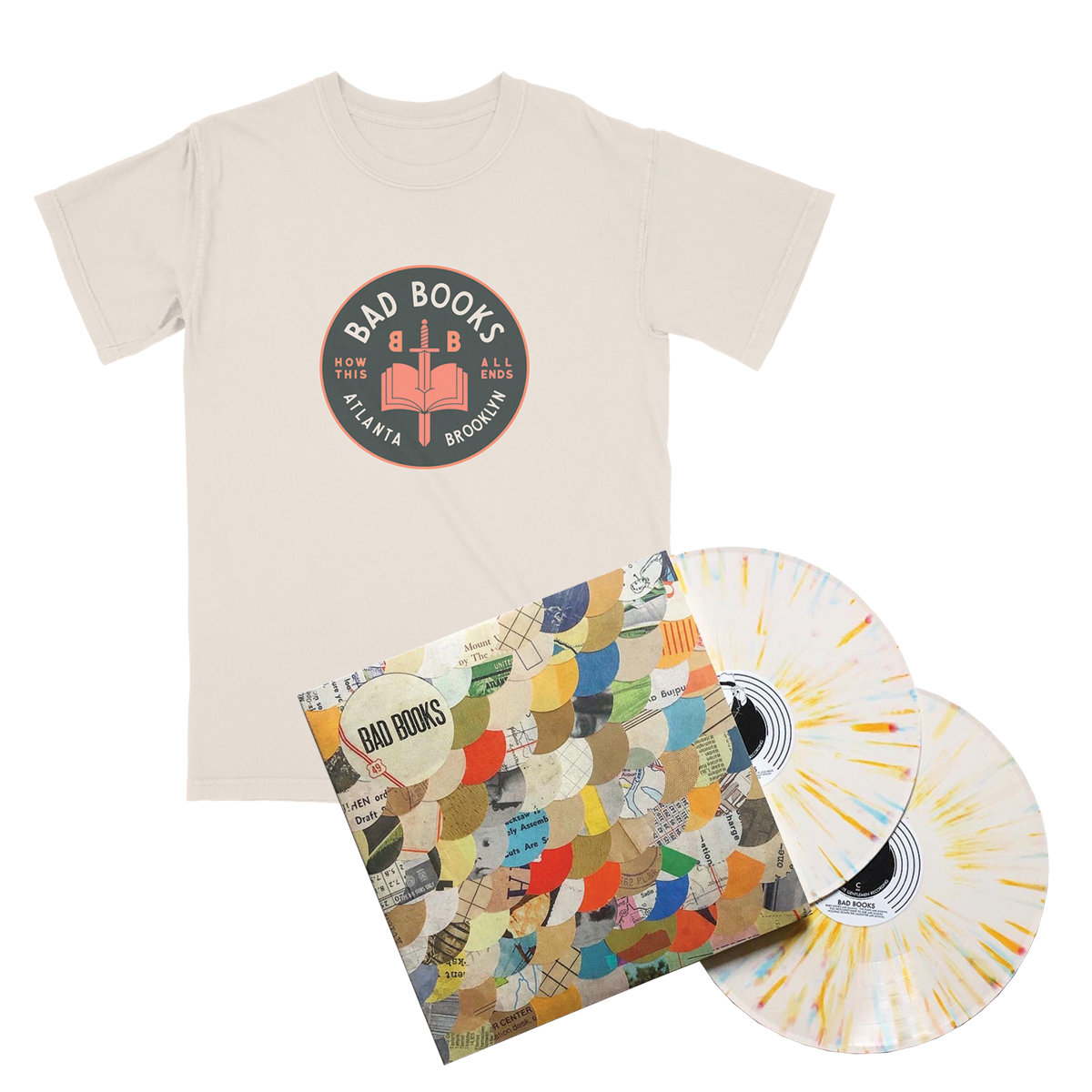 Anniversary LP + How This All Ends Tee