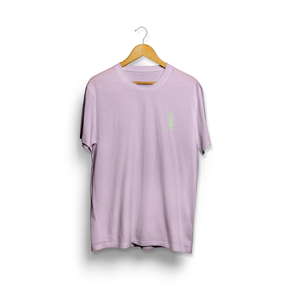 Purple Noon Embroidered Tee (Orchid) - Limited Edition