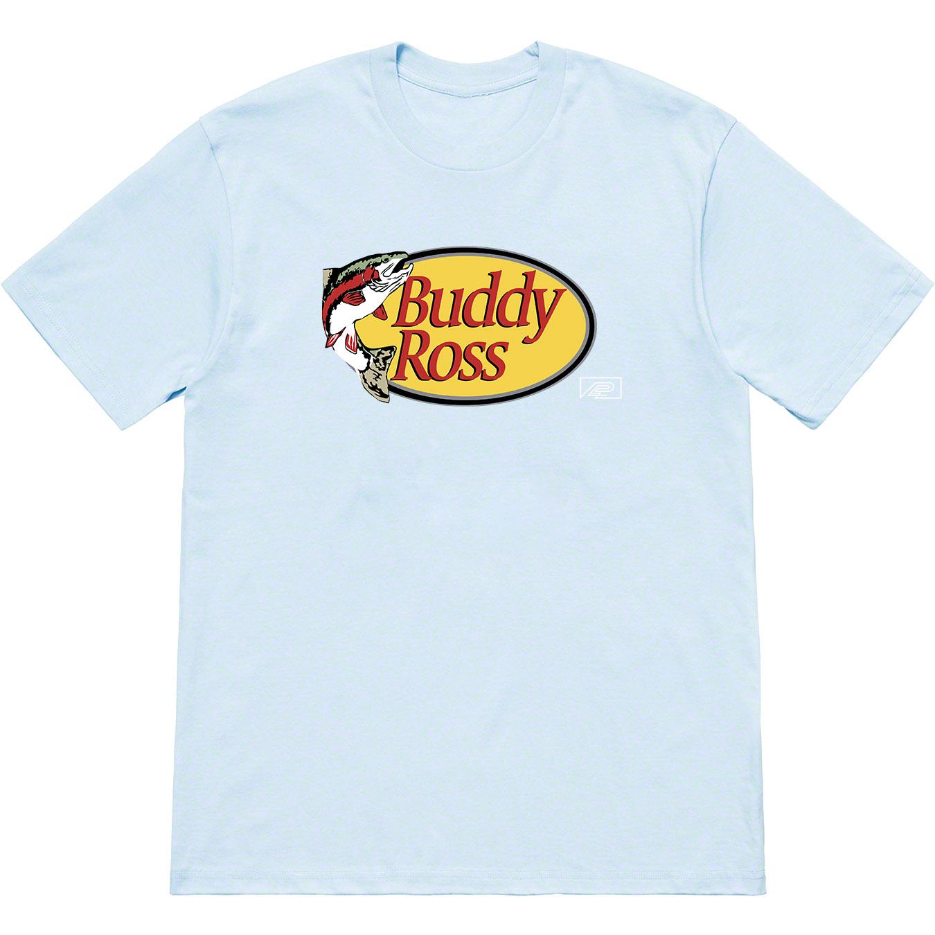 BUDDY ROSS T-SHIRT - LIGHT BLUE