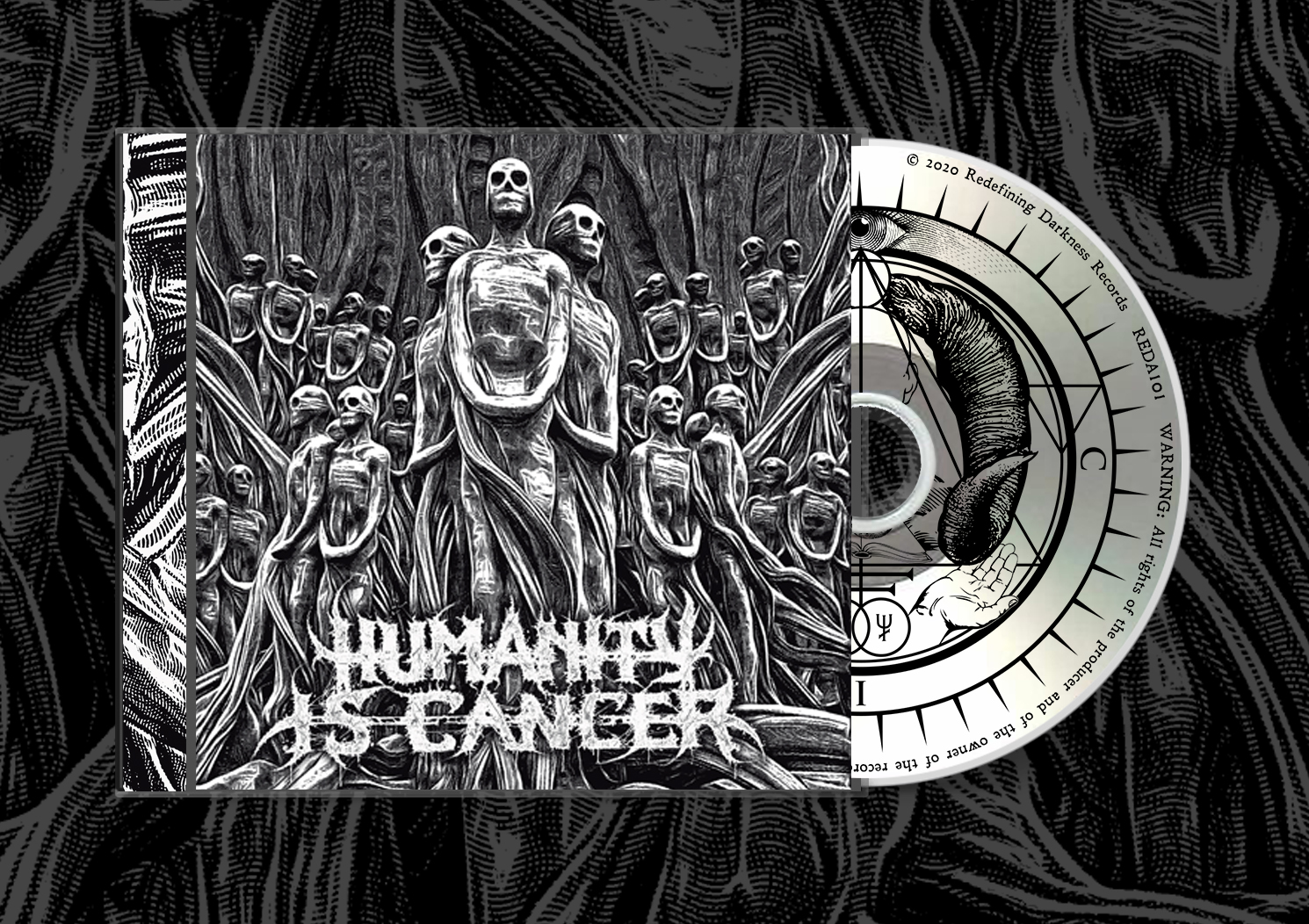 HUMANITY IS CANCER - S/T