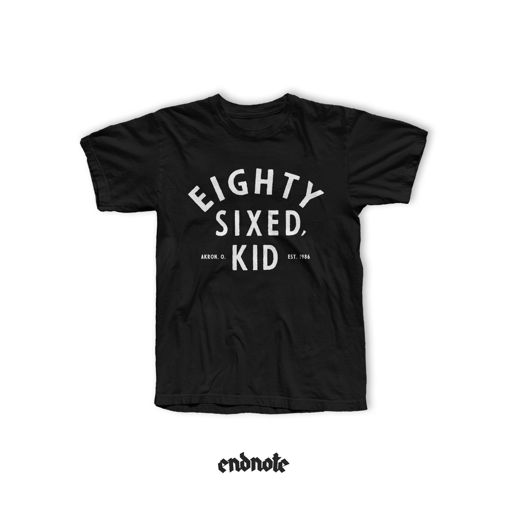 Eighty-Sixed, Kid - Logo Tee