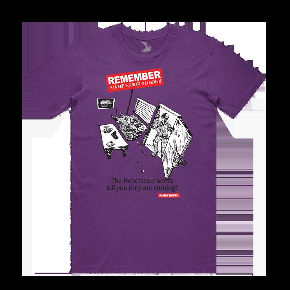 Invasion Tee - Purple