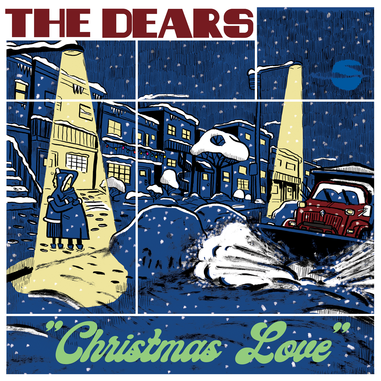 The Dears - Christmas Love b/w O Little Town of Bethlehem - Digital