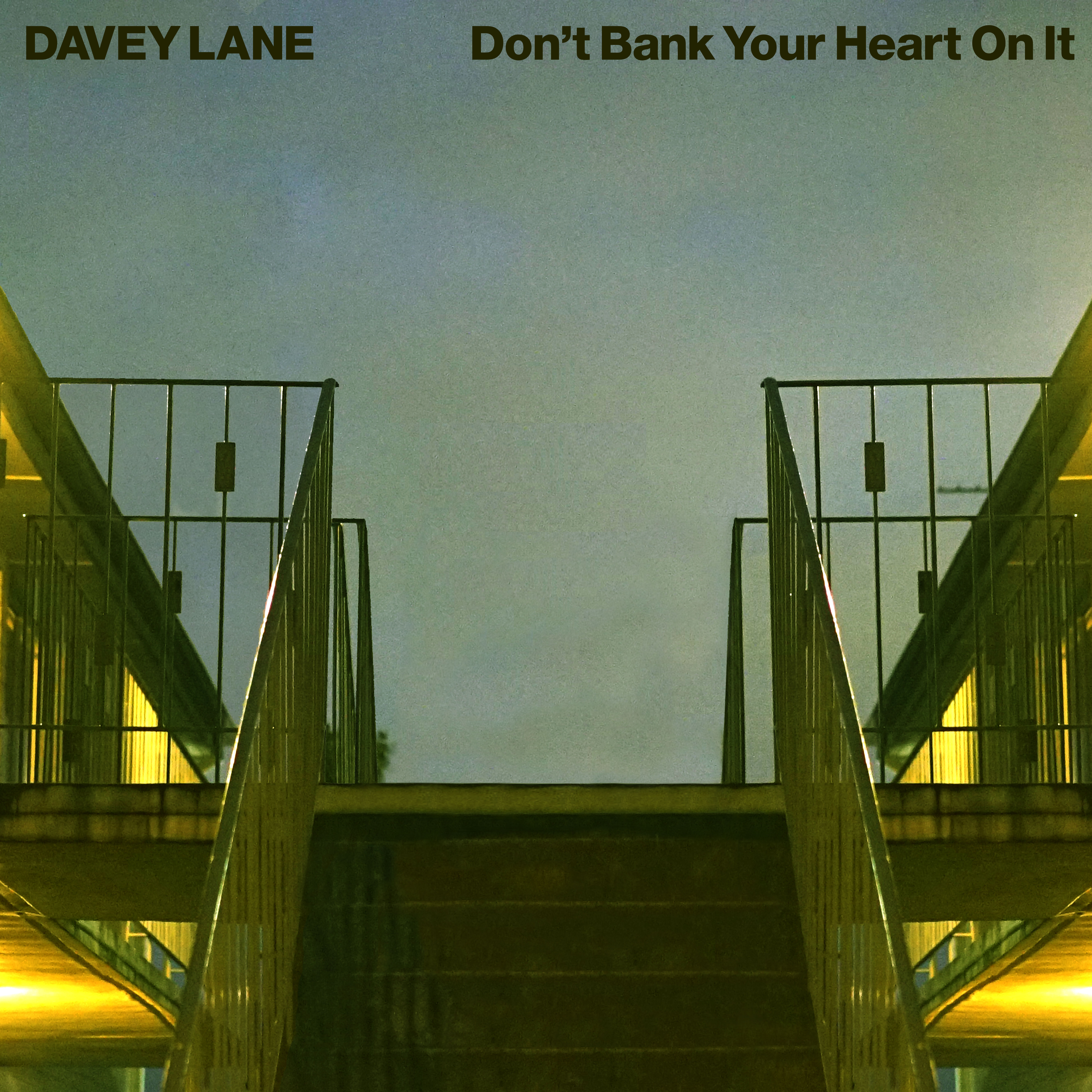 Don't Bank Your Heart On It - 12' vinyl record - Green Vinyl *limited*