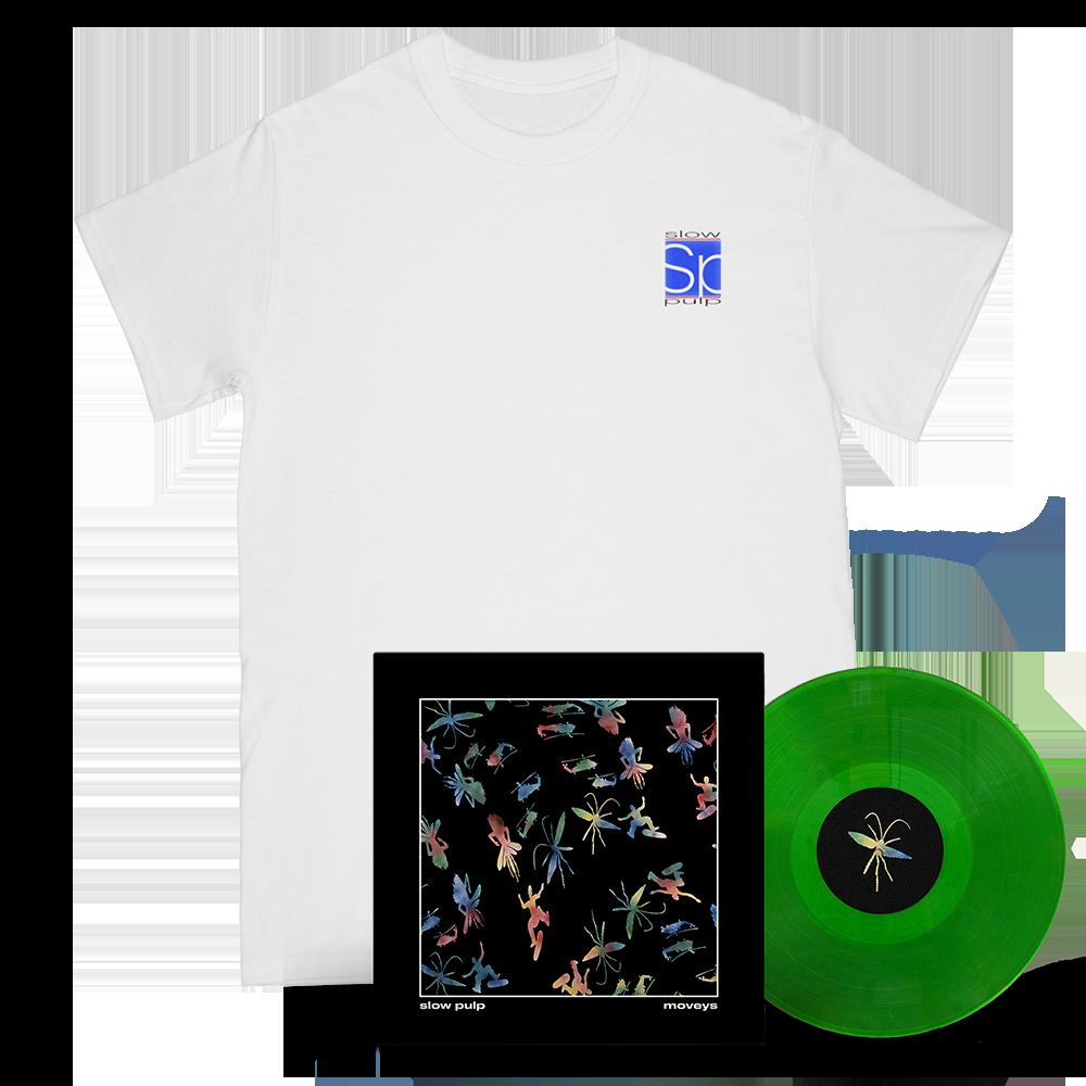 Logo Tee & Moveys Vinyl - Green