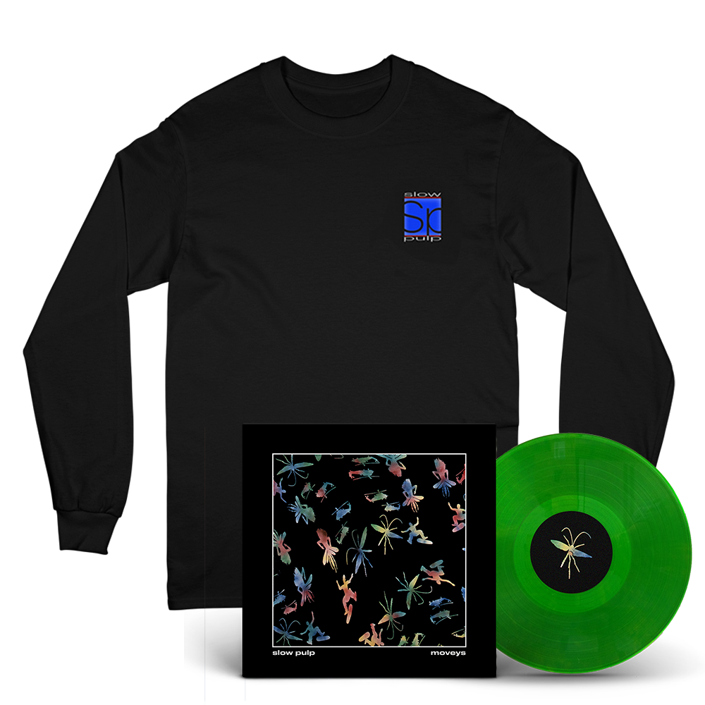 Logo Long Sleeve + Moveys Vinyl - Green