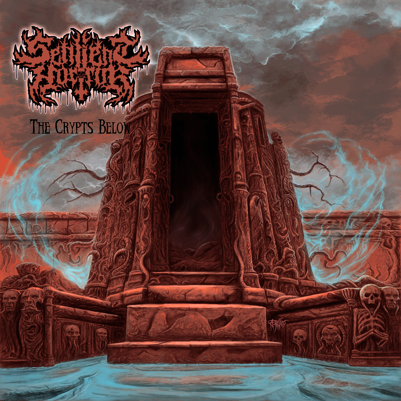 SENTIENT HORROR - The Crypts Below EP