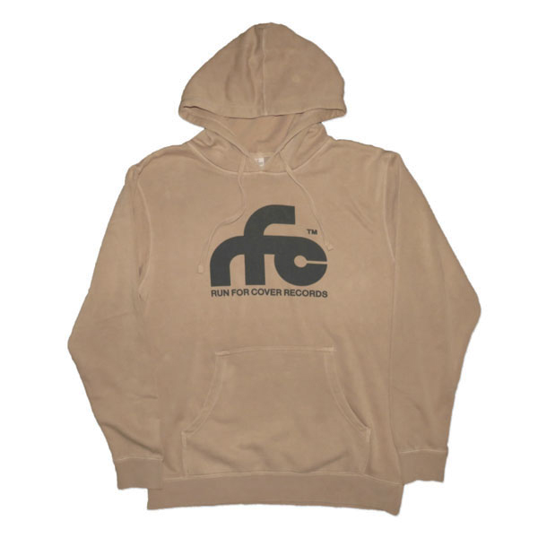 Run For Cover - Logo Hoodie Sweatshirt (Sandstone)