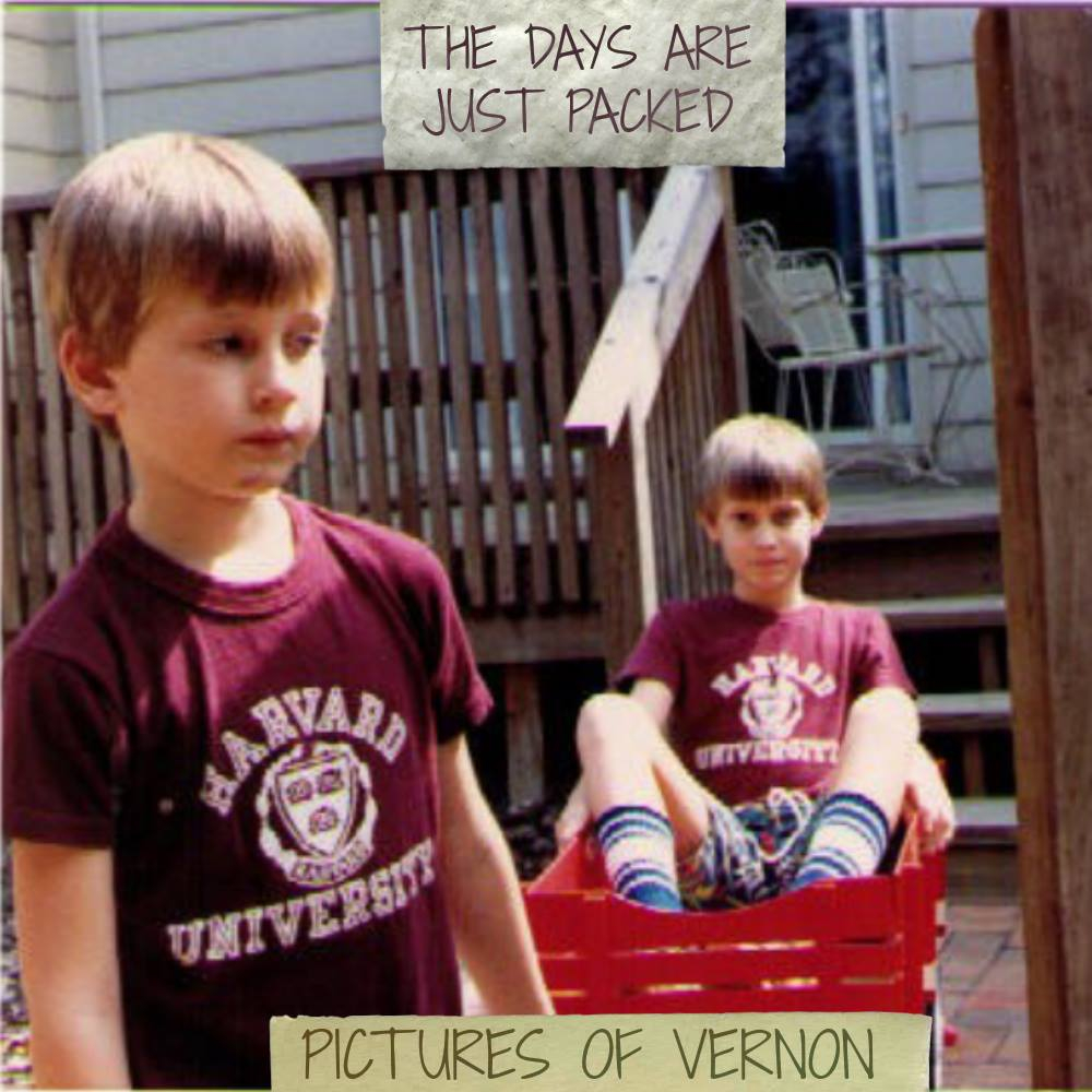 Pictures of Vernon - The Days Are Just Packed