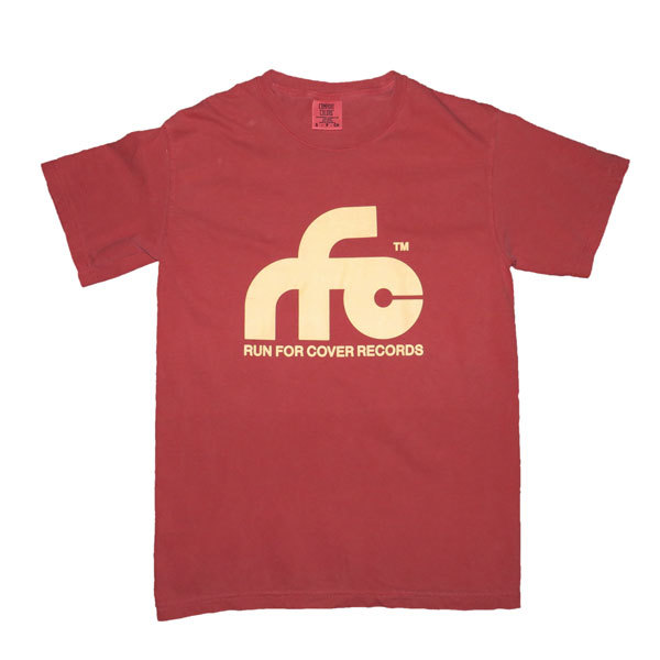 Run For Cover - Logo Shirt (Crimson Red Comfort Colors)