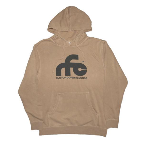 Run For Cover - Logo Hoodie Sweatshirt (Sandstone)