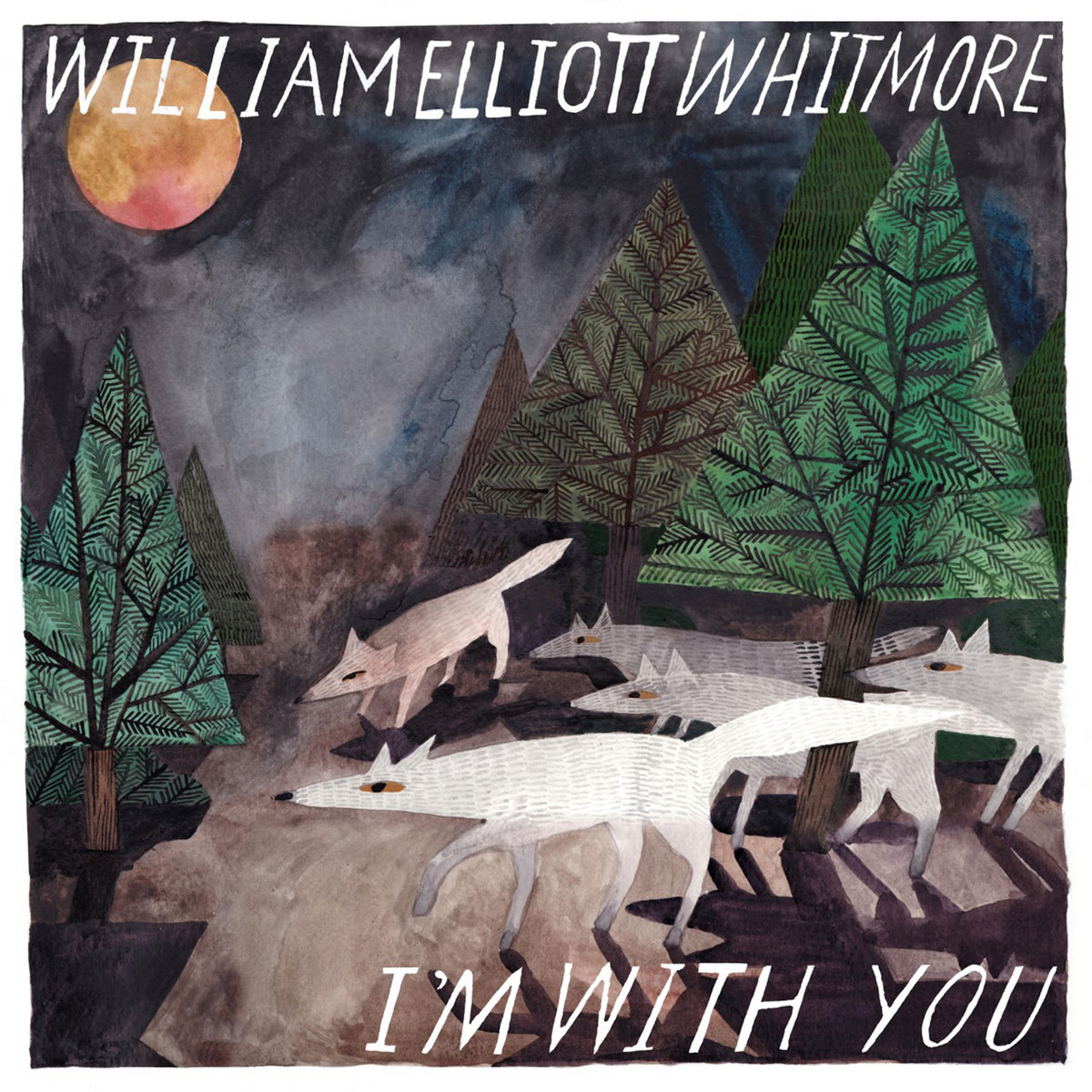 William Elliott Whitmore - I'm With You LP