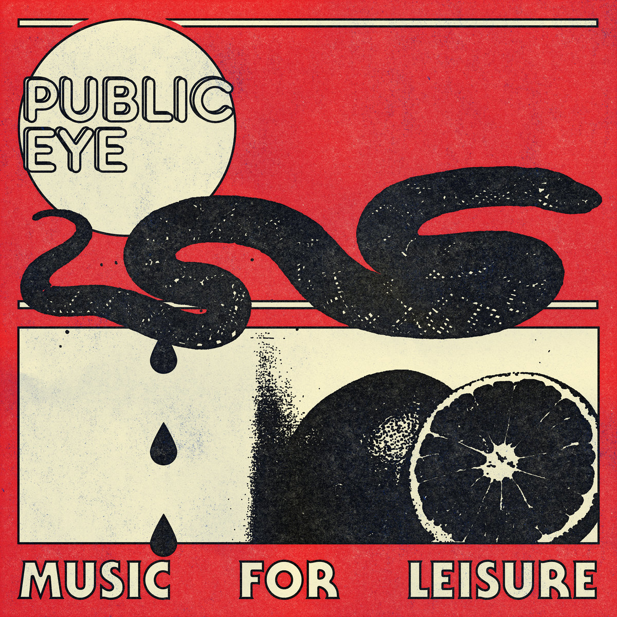 Public Eye - Music For Leisure LP