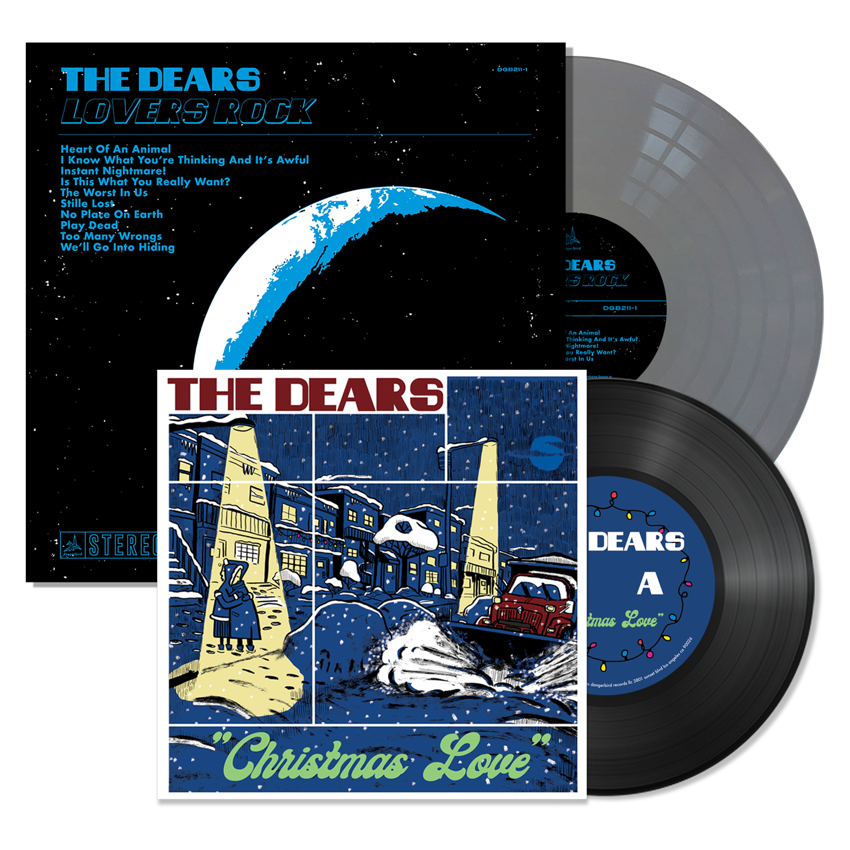 The Dears - Christmas Love + Lovers Rock - Vinyl Bundle