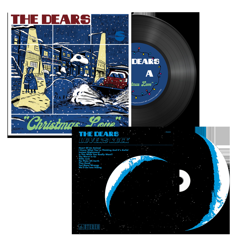 The Dears - Christmas Love + Lovers Rock - Vinyl + CD Bundle