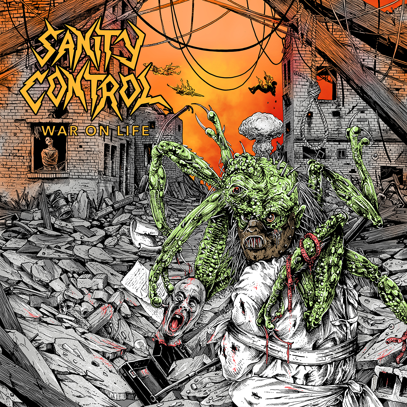 SANITY CONTROL - War On Life