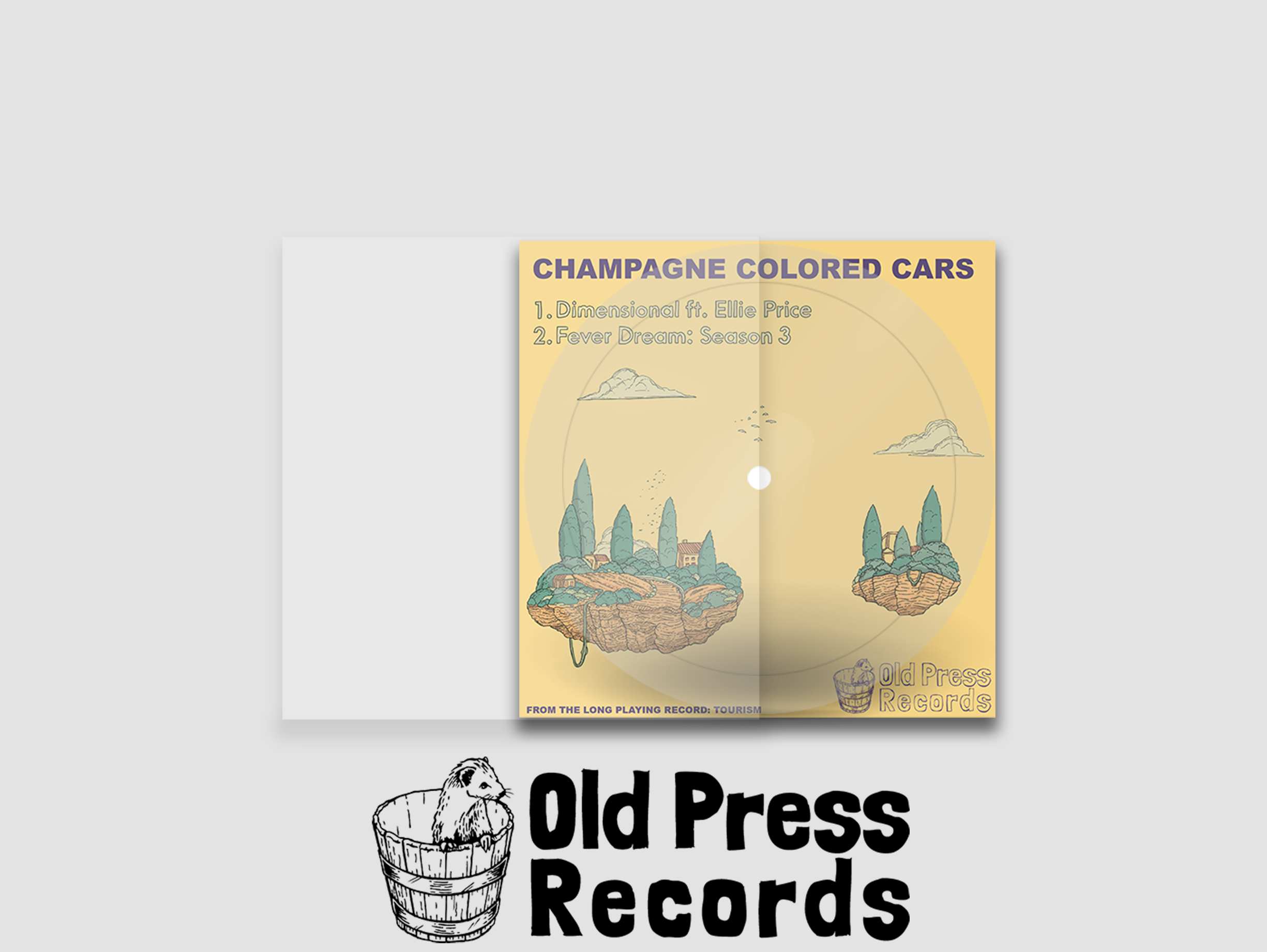Champagne Colored Cars - Tourism LP