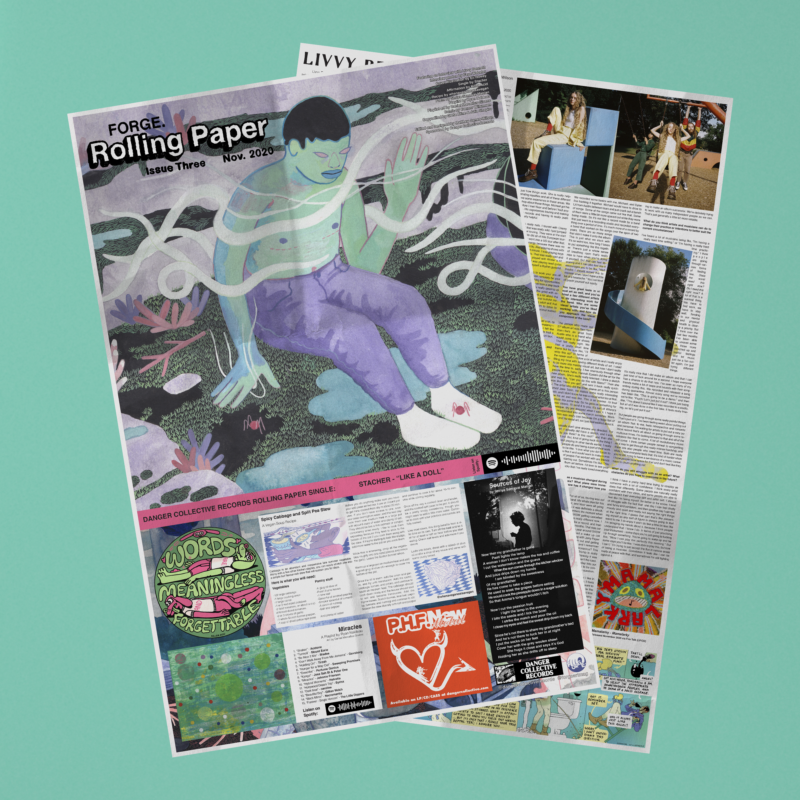 FORGE Rolling Paper Issue Three (Two Copies)