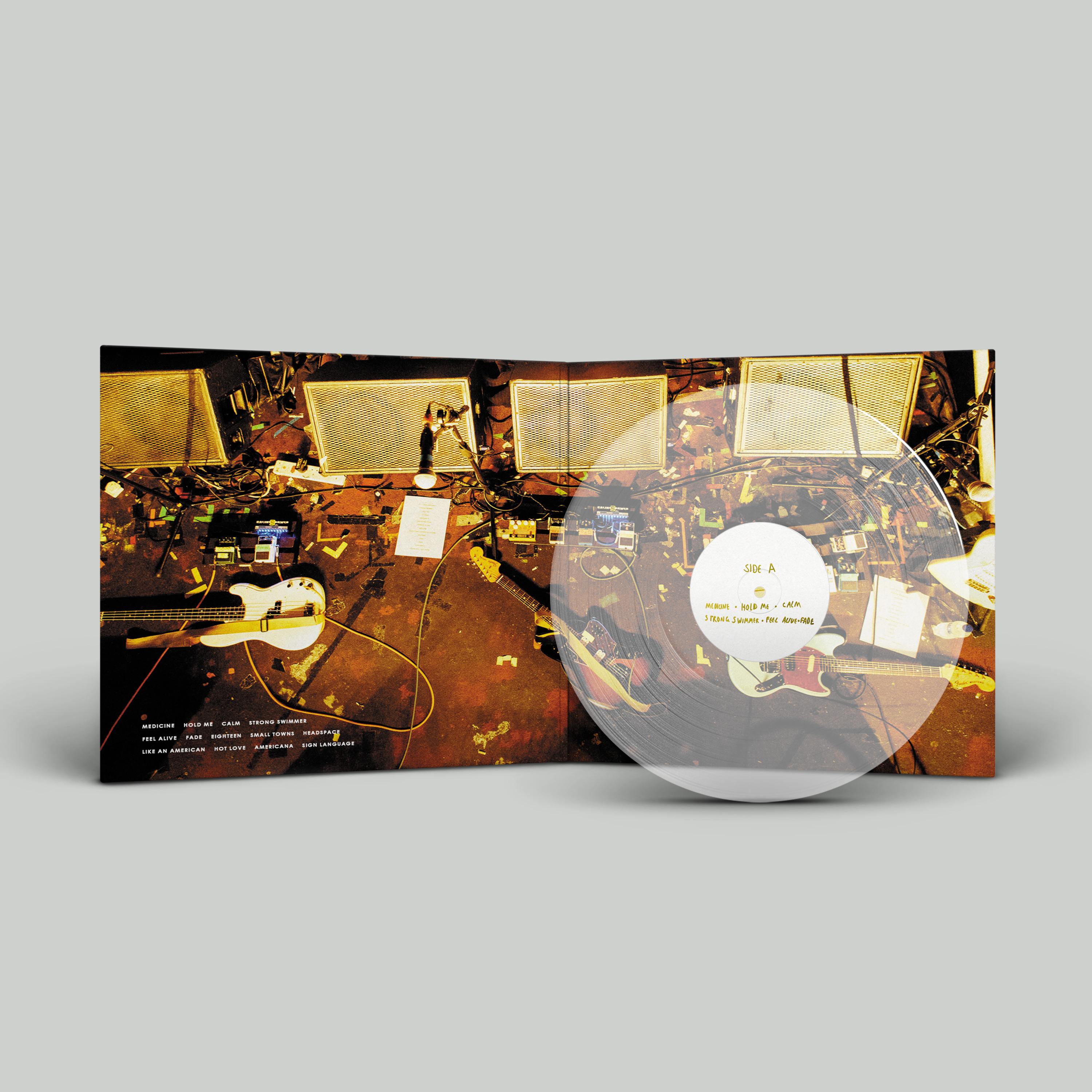 Before Everything Changes... Limited Edition Gatefold Clear Vinyl