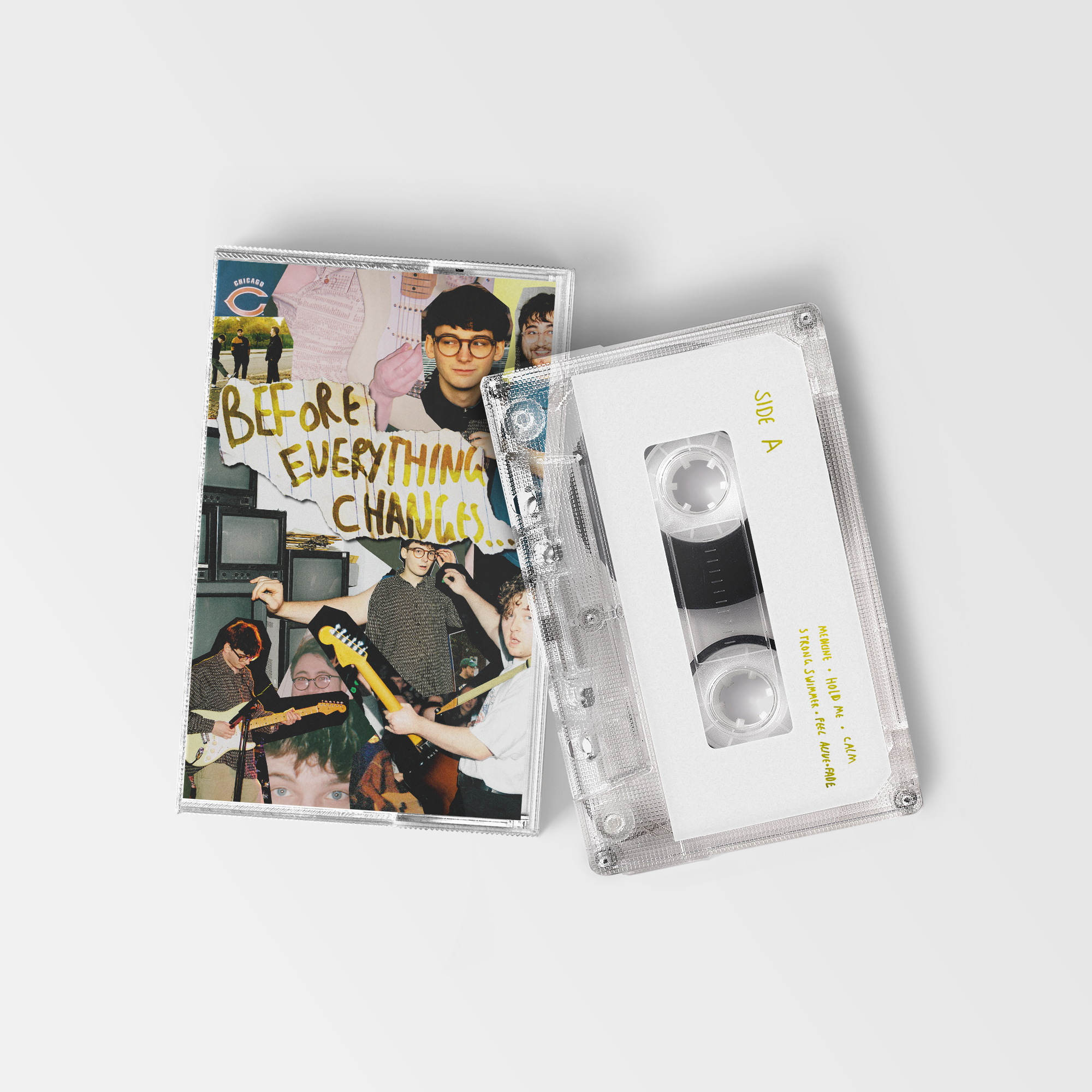 Before Everything Changes... Limited Edition Clear Cassette