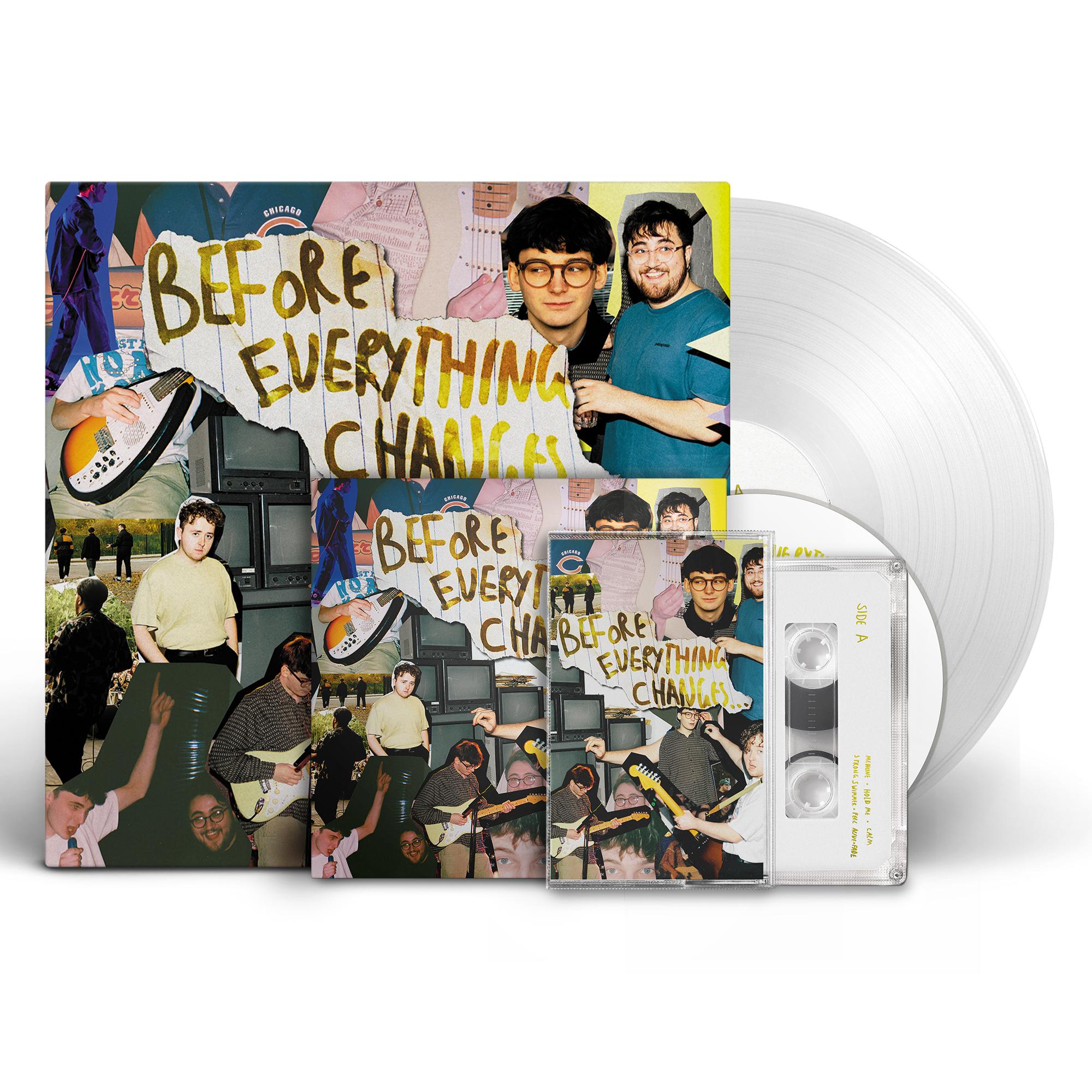 Super Bundle - Vinyl + CD + Cassette