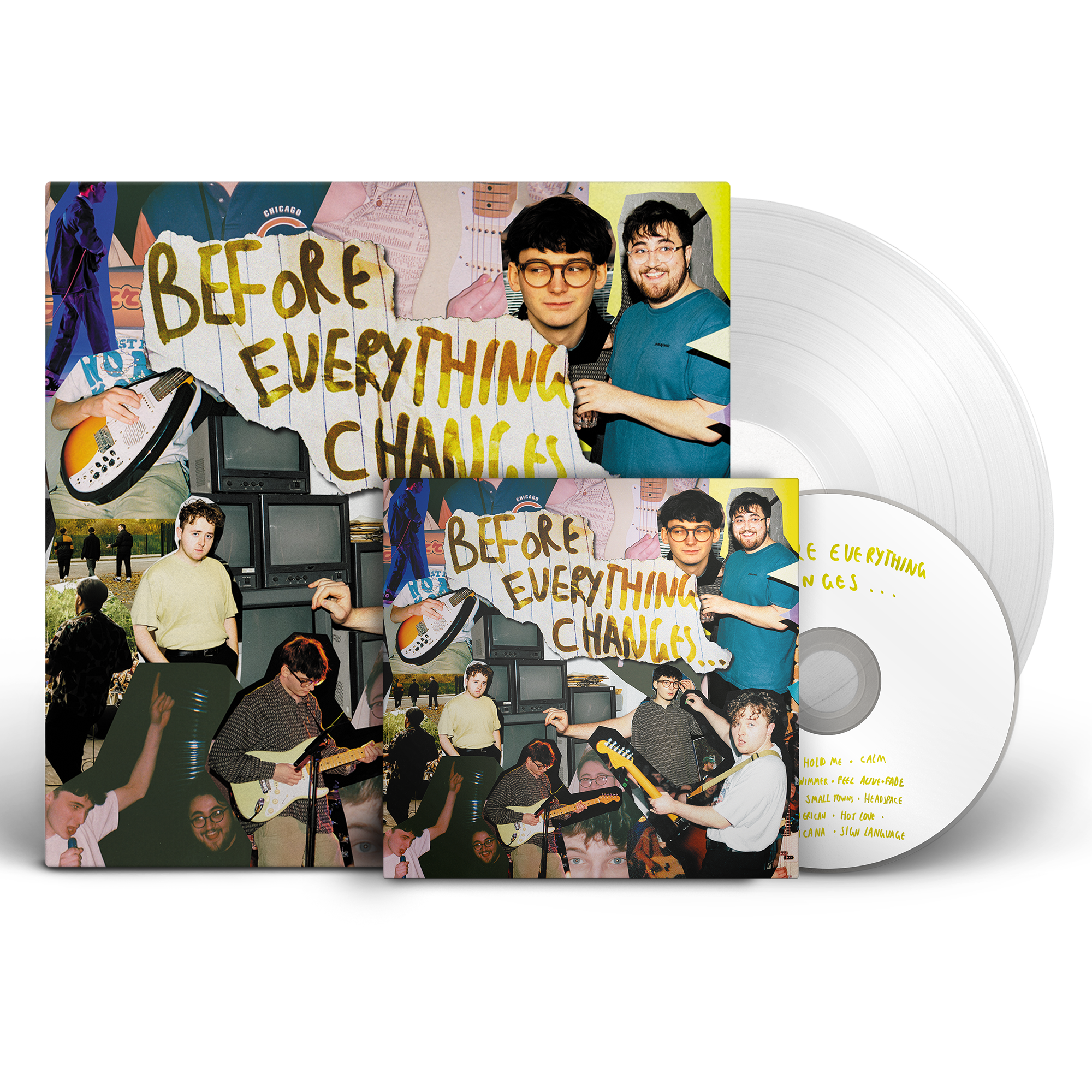 Vinyl + CD