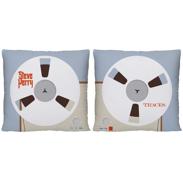 "Tape Machine 12"" Throw Pillows (Pair of 2)"