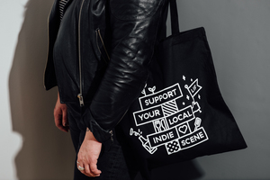 Leeds Indie Food Tote Bags - Support Your Local Indie Scene