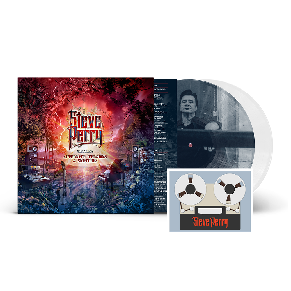 Traces Alternate Versions & Sketches SIGNED or UNSIGNED Deluxe 2xLP Crystal Clear Vinyl w/ Picture Disc (Only 700 available) + 2D Magnet