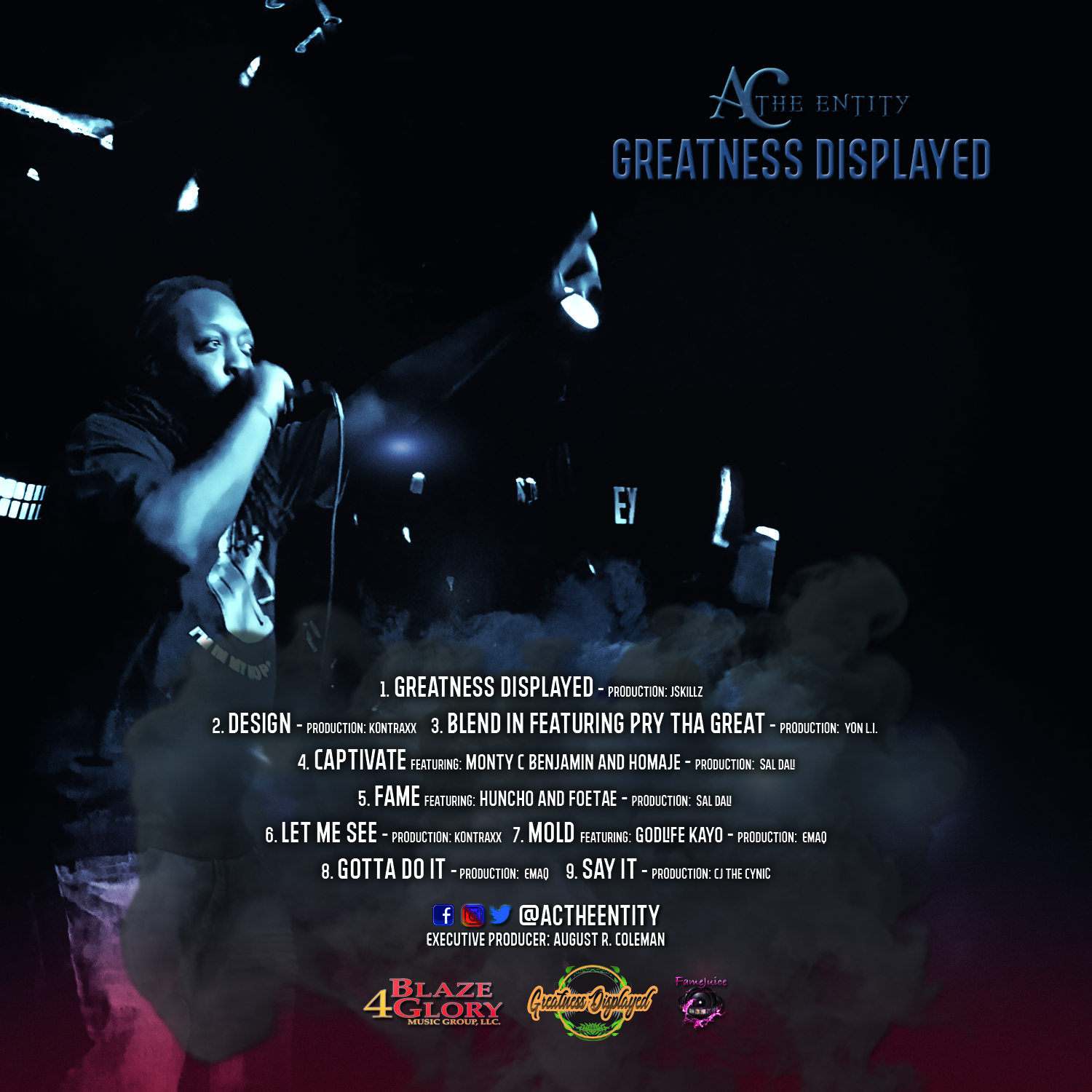 AC The Entity - Greatness Displayed (Explicit)