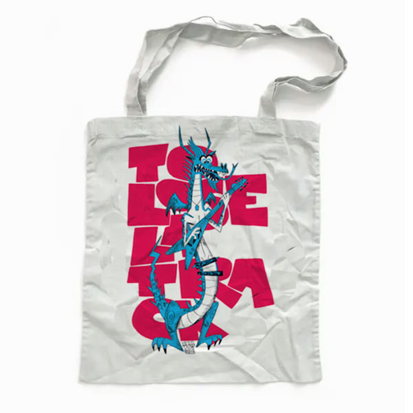 Tote Bag Draco To Lose La Track
